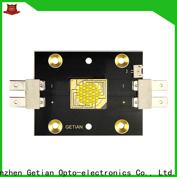 Getian vertical flip chip led personalized for spot light