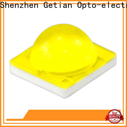 Getian smd led chip types well designed for spotlight
