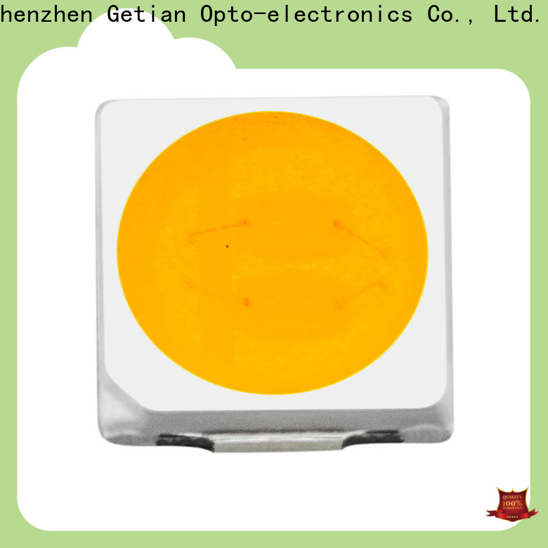 Getian yellow smd led 1w directly sale for photography