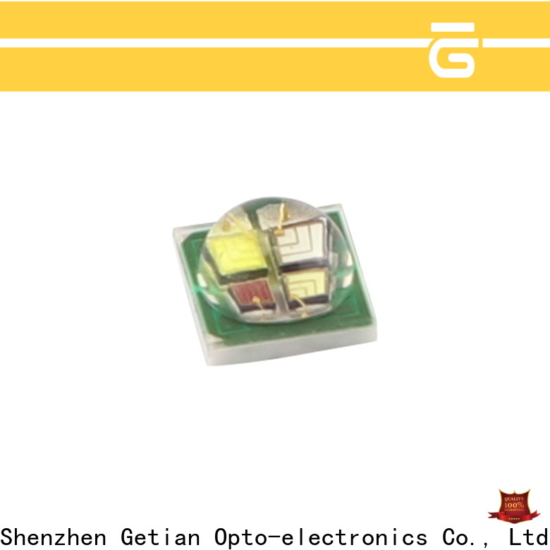 Getian rgbw led chip personalized for outdoor landscape lighting