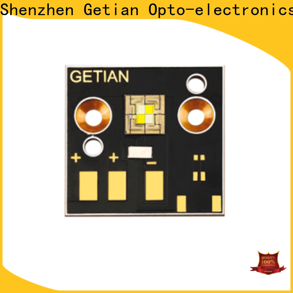 Getian bicolor cob led personalized for stage light