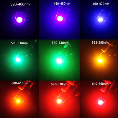 Red Green Blue Yellow Amber color led chip 1w 3030 smd LED