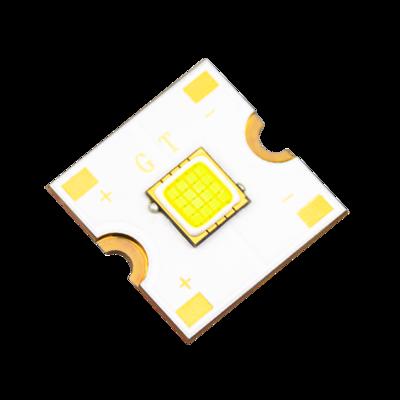 FC60 20*20mm square heatsink 60w High Luminance headlights integrated cob led chip 60w