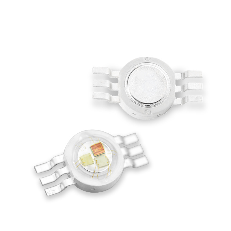 3W  6pin RGB High Power led Chip for stage light