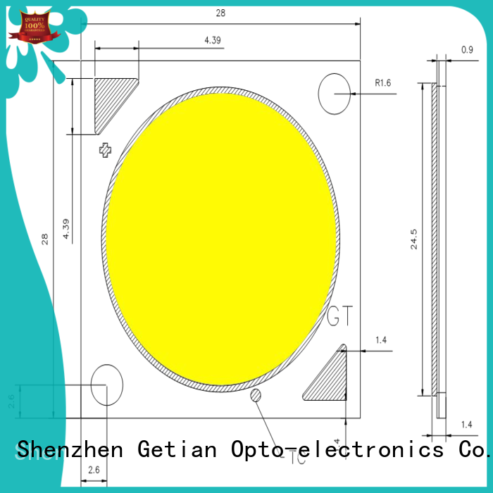 Getian substitute 40w led chip series for low bay light