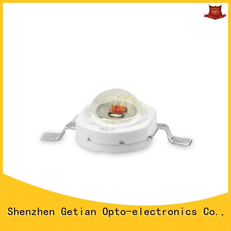 Getian colorful blue led chip factory price for decorative lighting