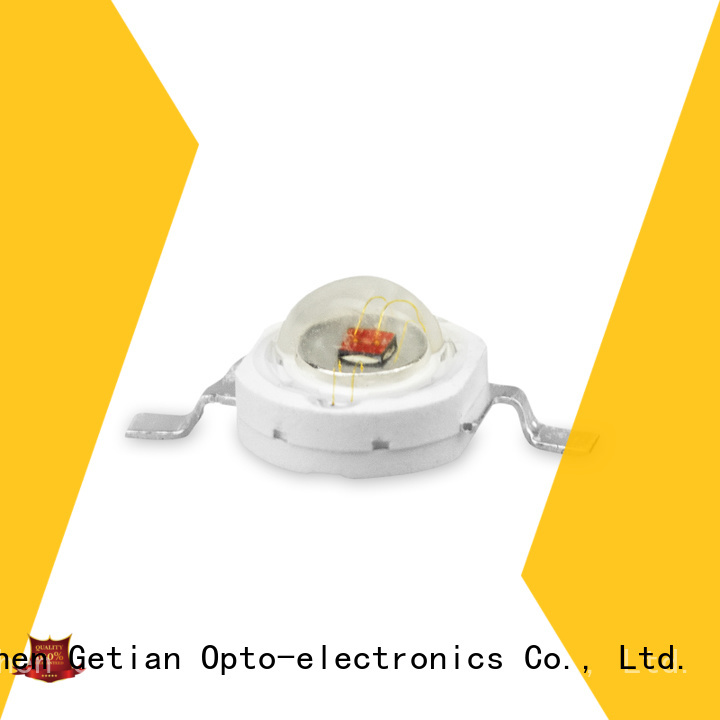 Getian yellow led chip 1w personalized for general illumination
