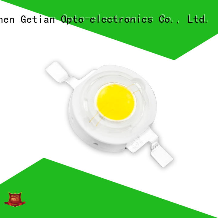 Getian long lasting 1w led chip well designed for commercial lighting