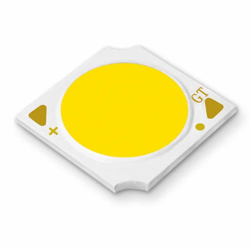 Factory wholesale 3w white led chip 34-41v aluminum base slim round led chip on board
