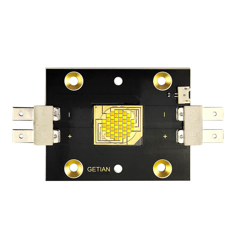 Getian 8000-8500k 36V 7.5A  40000-45000lm 600W flip chip cob led with Os ram vertical chip