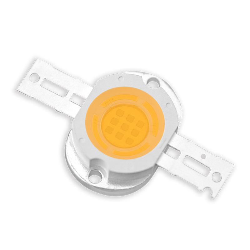 High light density white LED diode 10W COB LED chip