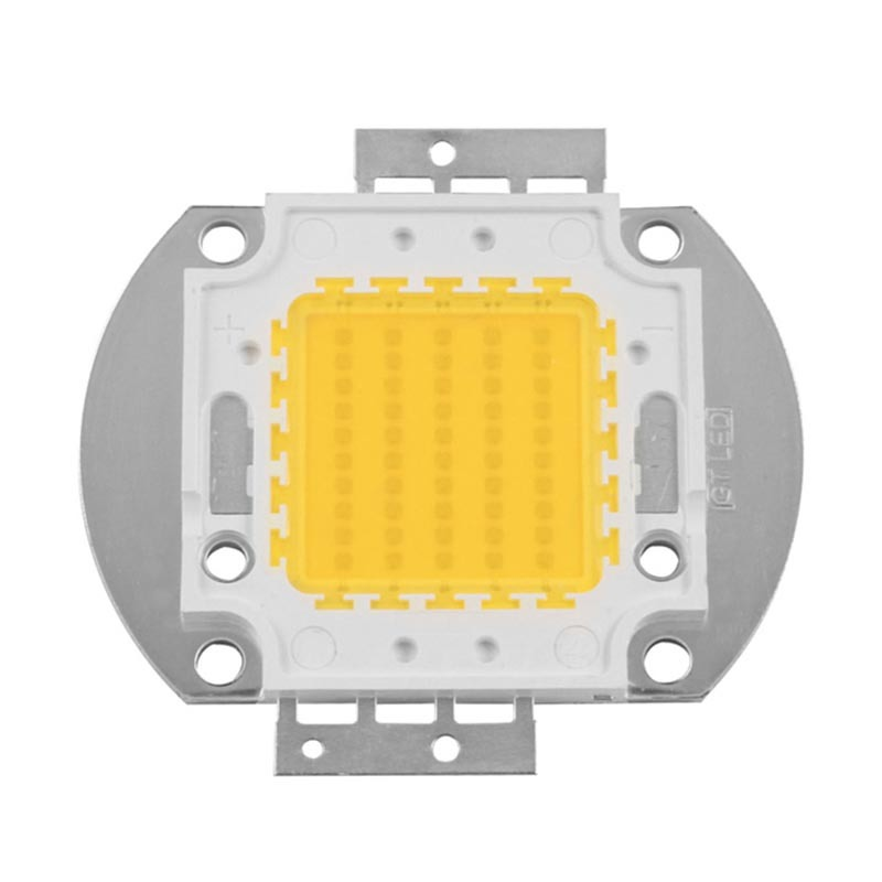High efficacy 120-130LM/W 30V 1750mA 50W White COB LED